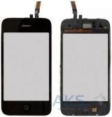 Сенсор (тачскрин) для Apple iPhone 3GS with frame Original Black