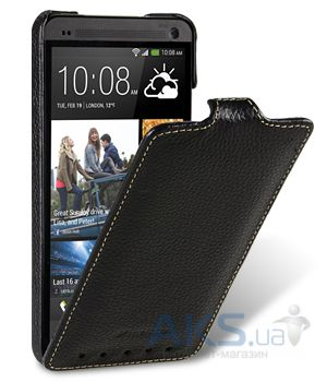 Чехол Melkco Jacka leather case for HTC One M7 Black (O2O2M7LCJT1BKLC)