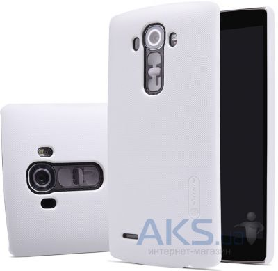Чехол Nillkin Super Frosted Shield LG Optimus G4 H818 White