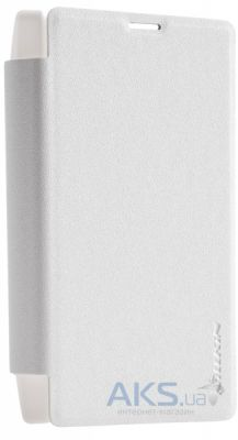Чехол Nillkin Sparkle Leather Series Microsoft Lumia 435 White