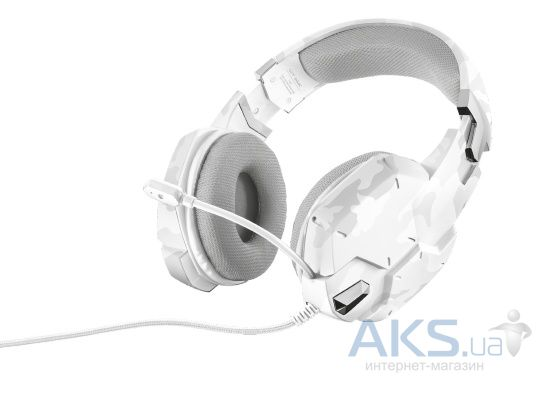 Наушники (гарнитура) Trust TRUST GXT 322W Gaming Headset white camouflage