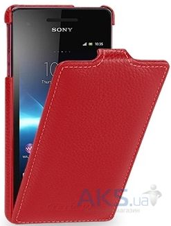 Чехол TETDED Leather Flip Series Sony Xperia V LT25i Red