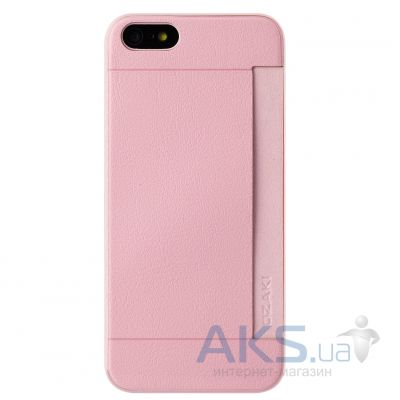 Чехол Ozaki O!coat 0.3 Pocket Apple iPhone 5, iPhone 5S, iPhone SE Pink (OC547PK)