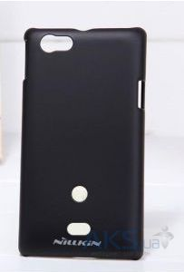 Чехол Nillkin Super Frosted Shield Sony Xperia Miro ST23i Black