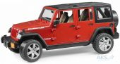 Джип Bruder Wrangler Unlimited Rubicon М1:16 (02525 красный)