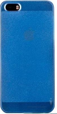 Чехол Momax Pearl cover case for iPhone 5/5S Blue (CUAPIP5SPB)