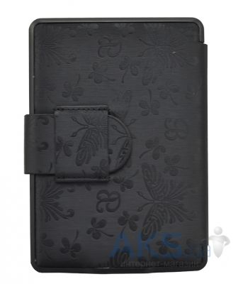 Обложка (чехол) Leather case for Amazon Kindle Paperwhite Butterfly Black