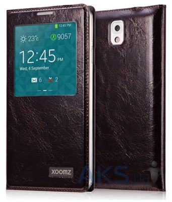 Чехол Xoomz Original Oil Wax Leather для Samsung Galaxy Note 3 Coffee