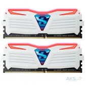 Оперативная память Geil DDR4 8GB (2x4GB) 2400 MHz Super Luce  (GLWR48GB2400C16DC) White