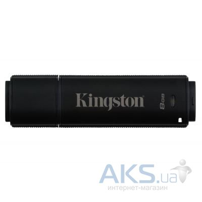 Флешка Kingston 8GB DataTraveler 4000 G2 Metal Black USB 3.0 (DT4000G2/8GB)