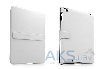 Чехол для планшета Capdase Capparel Protective Case Forme White/Black for New iPad/iPad 2 (CPAPIPAD2-1021)