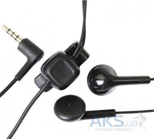 Купить гарнитуру для телефона Nokia WH-102 Black за 86 грн! → AKS.ua 77c4d8a6a36f1
