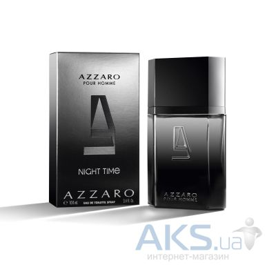 Azzaro Pour Homme Night Time Туалетная вода 30 мл