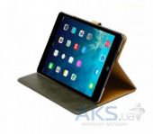 Вид 5 - Чехол для планшета Zenus iPad Air Leather Case 'Masstige' Lettering Diary Series Deep Khaki