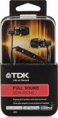 Вид 4 - Наушники (гарнитура) TDK SP70 IN-EAR HEADPHONES IPHONE CONTROL + mic Black