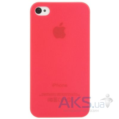 Чехол Perfektum UltraThin Case for Apple iPhone 4/4S Mate Red