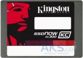 "Накопитель SSD Kingston SKC300 180GB 2,5"" (SKC300S3B7A/180G) Grey"