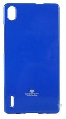 Чехол Mercury Jelly Color Series Huawei Ascend P7 Blue