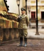 Вид 2 - VSTank 1:24 Military Metal Figure Germam Commander Ger01 (A03102801)