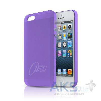 Чехол ITSkins Zero.3 cover case for iPhone 5 Purple (APH5 ZERO3 PRPL)