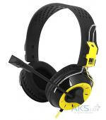 Наушники Gemix N4 Black/Yellow