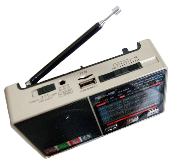 Golon RX-8866 радиоприемник ФМ портативная колонка
