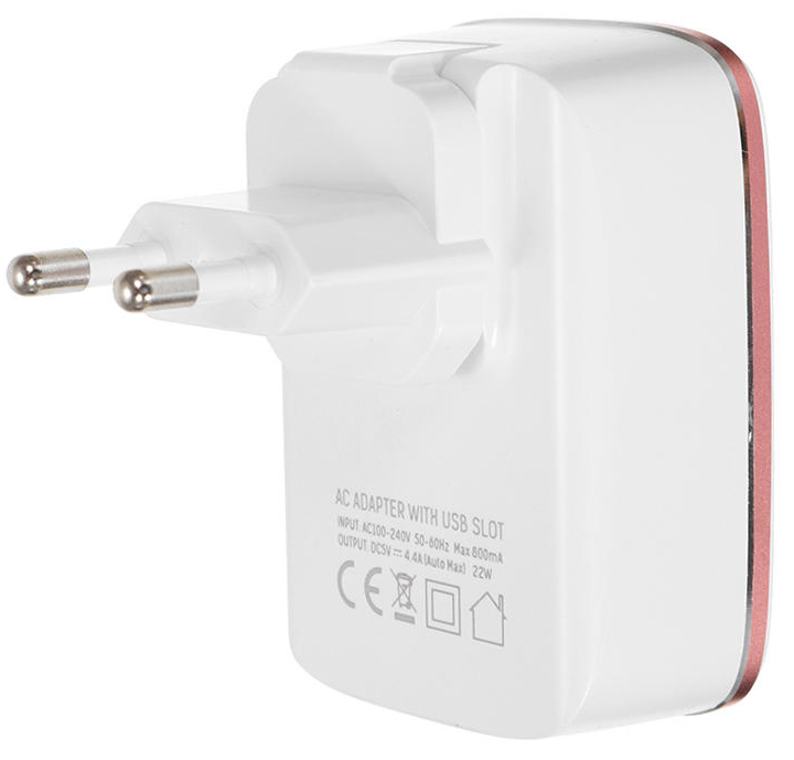 LDNio Home Charger 4USB 4.4A White