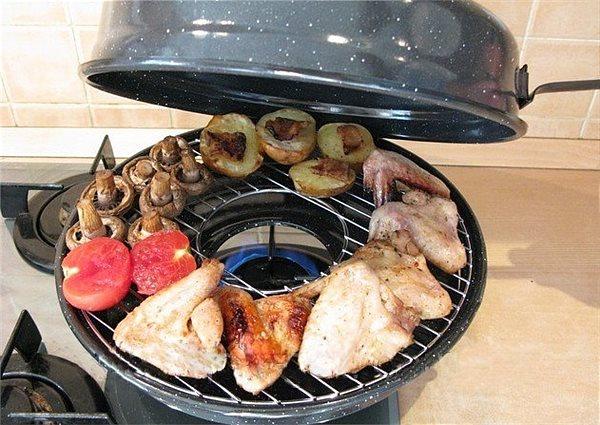 Рецепт блюда на сковороде гриль