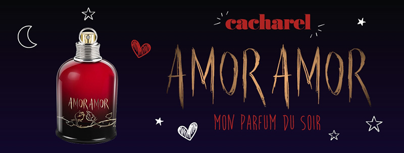 cb24e6d9e88 Характеристики Cacharel Amor Amor Mon Parfum Du Soir Парфюмированная вода  50 мл