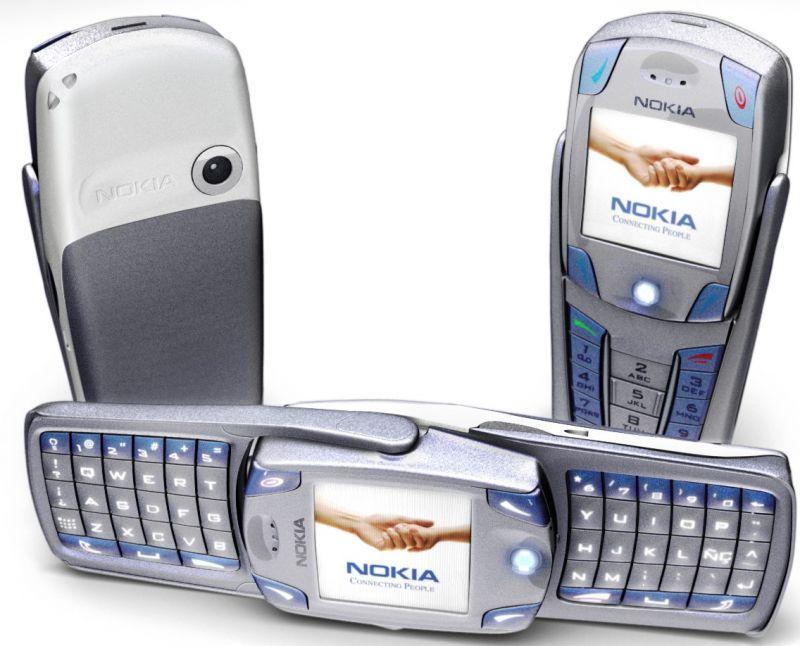 Дисплей (экран) для телефона Nokia 3250, 6820