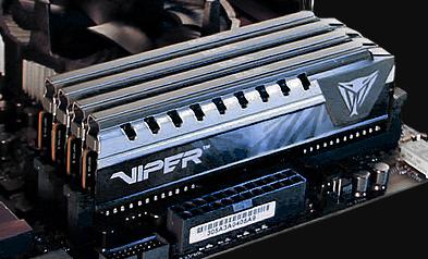 Оперативная память Viper Elite Gray 8Gb (PVE48G266C6GY) - купить в ...